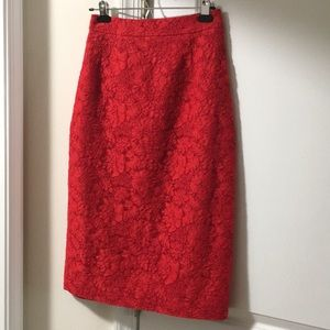 Kate spade high waisted skirt